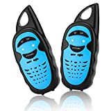 WES TAYIN Upgraded Walkie Talkies for Kids, Up to 2-Mile and 3 Channels Easy to Use Walkie Talkies for Toddlers, Toy Walkie Talkies for Little Hands Boys Gifts