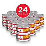 Hill's Science Diet Adult Tender Chicken Dinner Chunks and Gravy Cat Food Can, 5.5-Ounce, 24-Pack