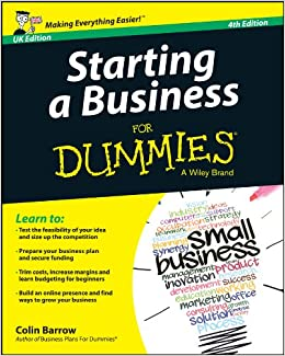 Starting a Business For Dummies[UK Edition]: Barrow, Colin: 8601405032614: Amazon.com: Books