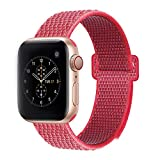 BEA FASHION Sport Bands Compatible with Apple Watch Band 38mm Soft Breathable Woven Nylon Replacement Sport Loop Band for Apple Watch Series 3 Series 2 Series 1