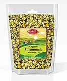 SunBest Organic Chamomile Flowers, Egyptian, Whole/Loose, Caffeine Free, Herbal Leaf Tea - Relaxing Tea (16 Oz (1 Lb))