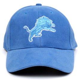 NFL Detroit Lions LED Light-Up Logo Adjustable Hat