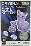 3D Crystal Puzzle Cat and Kitten