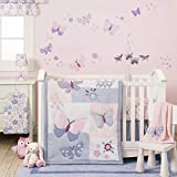 Bedtime Originals Butterfly Meadow Bedding Set, 3 Piece