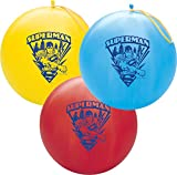 "Qualatex 14"" Round Latex Punch Ball Balloon Officially Licensed Superman"