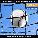 Net World Sports Baseball Backstop Nets - 50