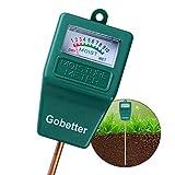 Soil Moisture Meter, Soil Test Kit for Gardens, Soil Moisture Sensor Meter Long Probe, Yard Moisture Meter for Plants/Flowers/Vegetable/Yard/Lawn (Single Function)