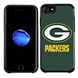 Prime Brands Group Cell Phone Case for Apple iPhone 8/ iPhone 7/ iPhone 6S/ iPhone 6 - NFL Licensed Green Bay Packers Textured Solid Color