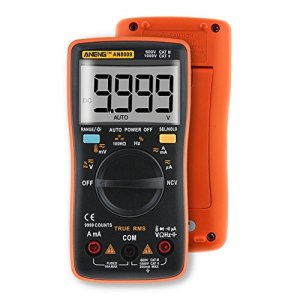 ANENG Handheld Digital Multimeter Mini Compact AC/DC with Leads Test Probe Set Portable Bag