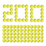 Little Valentine [200 Rounds Nerf Rival Compatible Ammo by Bulk Yellow Foam Bullet Ball Replacement Refill Pack for Nerf Rival Blasters (HIR, High-Impact Rounds - Yellow)