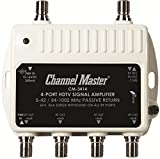 CMSTCM3414 - CHANNEL MASTER CM-3414 Ultra Mini Distribution Amp (4 Port)