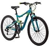 Mongoose Status 2.2 Women's 26' Wheel Mountain Bike 16-Inch/ Teal