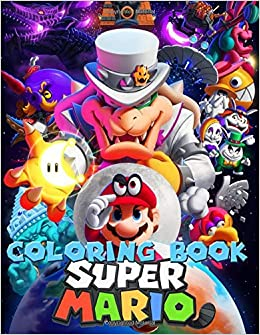Super Mario Coloring Book Great Coloring Pages For Kids Ages 2 8 Rogers John 9781708279288 Amazon Com Books