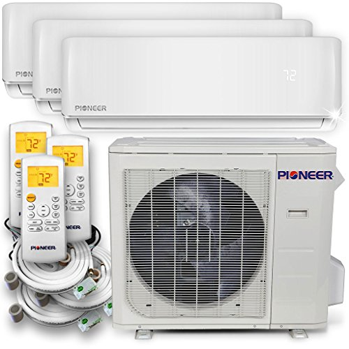 PIONEER Air Conditioner WYS030GMHI22M3 Multi Split System, Trio Split (3 Zone)