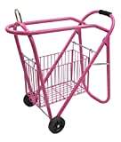 Product review for Western Or English Pink Saddle Rack And Tack Basket