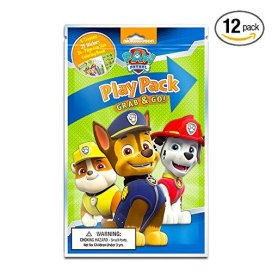 Nickelodeon Paw Patrol Grab and Go Play Packs (Pack of 12)