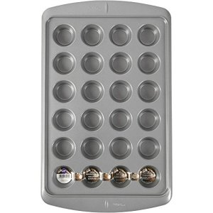 Wilton Ever-Glide Non-Stick Mini Muffin Pan 24-Cup- 519ikpg AUL