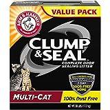 Arm & Hammer Clump & Seal Litter, Multi-Cat, 38 Lbs