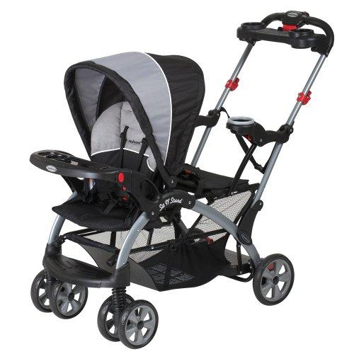 Baby Trend Sit N Stand Ultra Tandem Stroller, Phantom