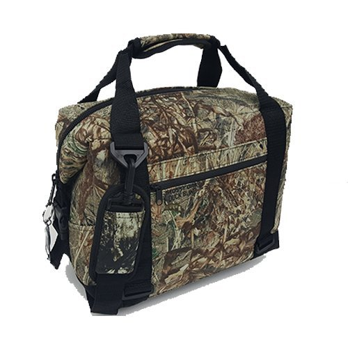 Polar Bear Coolers - Nylon Line - Quality Like No Other from The Brand You Can Trust - See Touch & Feel The Polar Bear Difference - Patent Pending - 48 Pack Mossy Oak Duck Blind Camo