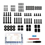 Mounting Dream Universal TV Mounting Hardware Kit Fits All TVs with M4, M5, M6, M8 TV Screws, Screwdriver, Pencil, Bubble Level, Bolts Spacers and Washers Kit for TV & Monitor up to 80 inch MD5756