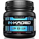 KAGED MUSCLE, IN-KAGED Intra Workout Powder, Intra-Workout Fuel, L-Citrulline, Workout, Boost Energy, Muscle Pump, Intra Workout, Cherry Lemonade, 20 Servings