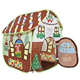 Homfu Play Tent for Kids for Indoor Outdoor Playhouse Boys Girls Child Gift Gingerbread House