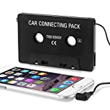 Insten Car Cassette Tape Adapter Compatible with Note 4/Apple SE/6/6S Plus/7/7 Plus/iPad Mini 3/iPad Air 2/Apple iPod Touch Mp3/Samsung Galaxy S10/S10 Plus/S10e/S9/S9+/S8/S8+
