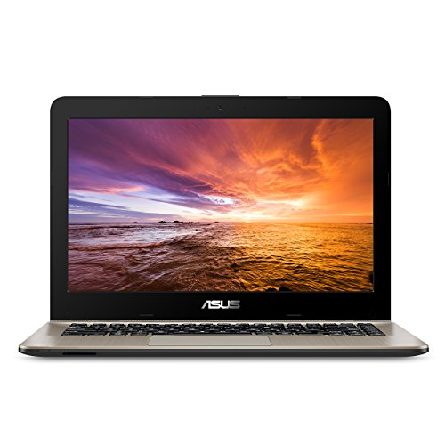 """ASUS VivoBook F441 Light and Powerful Laptop, AMD A9 Dual Core Processor (Boost up to 3.6 Ghz), Radeon R5 Graphics, 8GB DDR4 RAM, 256GB SSD, 14"""" FHD Display, Windows 10,F441BA-DS94"""
