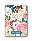 Orange Circle Studio 2020 Monthly Pocket Planner, August 2019 - December 2020, Bella Flora