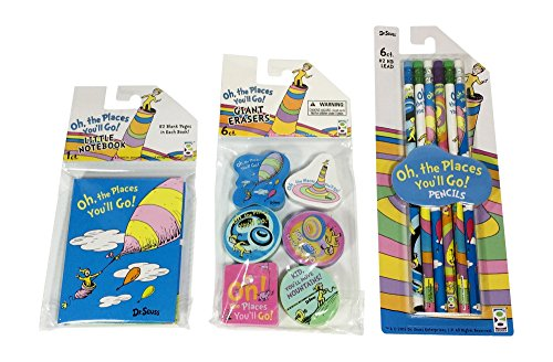 Dr Seuss Oh The Places Youll Go Activity Set - Preschool/Kindergarten Back to School Gift