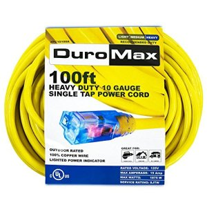 DuroMax XPC10100A Outdoor Extension Cord