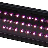 Beamswork LED Plant Pink Aquarium Light Freshwater RGB Chip Roseate (36')
