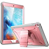 SUPCASE iPad 9.7 Case 2018/2017, Heavy Duty [Unicorn Beetle PRO Series] Full-Body Rugged Protective Case with Built-in Screen Protector & Dual Layer for Apple iPad 9.7 inch 2017/2018(Rosegold)