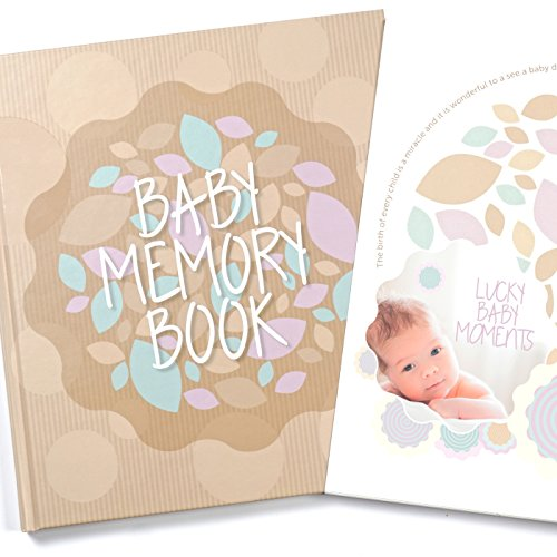 baby memory book and keepsake for baby s first year a scrapbook