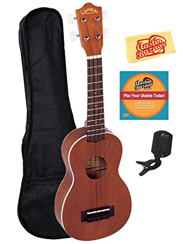 Lanikai LU-21 Soprano Ukulele with Gig Bag
