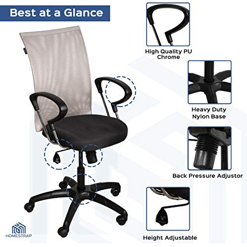 HomeStrap-Revolving-Desk-Mesh-Chair-for-Office-and-Workplace-Medium-Back-Black-Silver