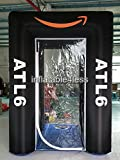 inflatable4less 9ft Inflatable Cash Cube Money Machine w/blowers Your Logo Custom Made