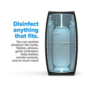HomeSoap-UV-Sanitizer-Patented-Clinically-Proven-UV-Light-Disinfector-Black