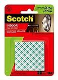 Scotch 311DC 599038997258 3 Inch Gel Infused Memory Foam Mattress Topper, 1 Set (48 Squares), White