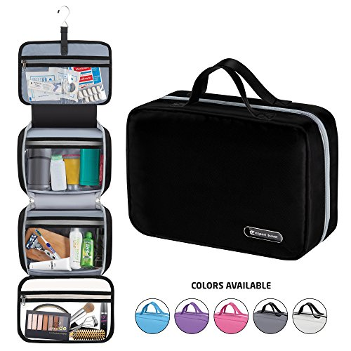 Hanging Travel Toiletry Bag for Men and Women | Makeup Bag | Cosmetic Bag |...