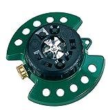 Dramm Metal Base, Green 15024 ColorStorm 9-Pattern Turret Sprinkler with Heavy-Duty Meta (Renewed)