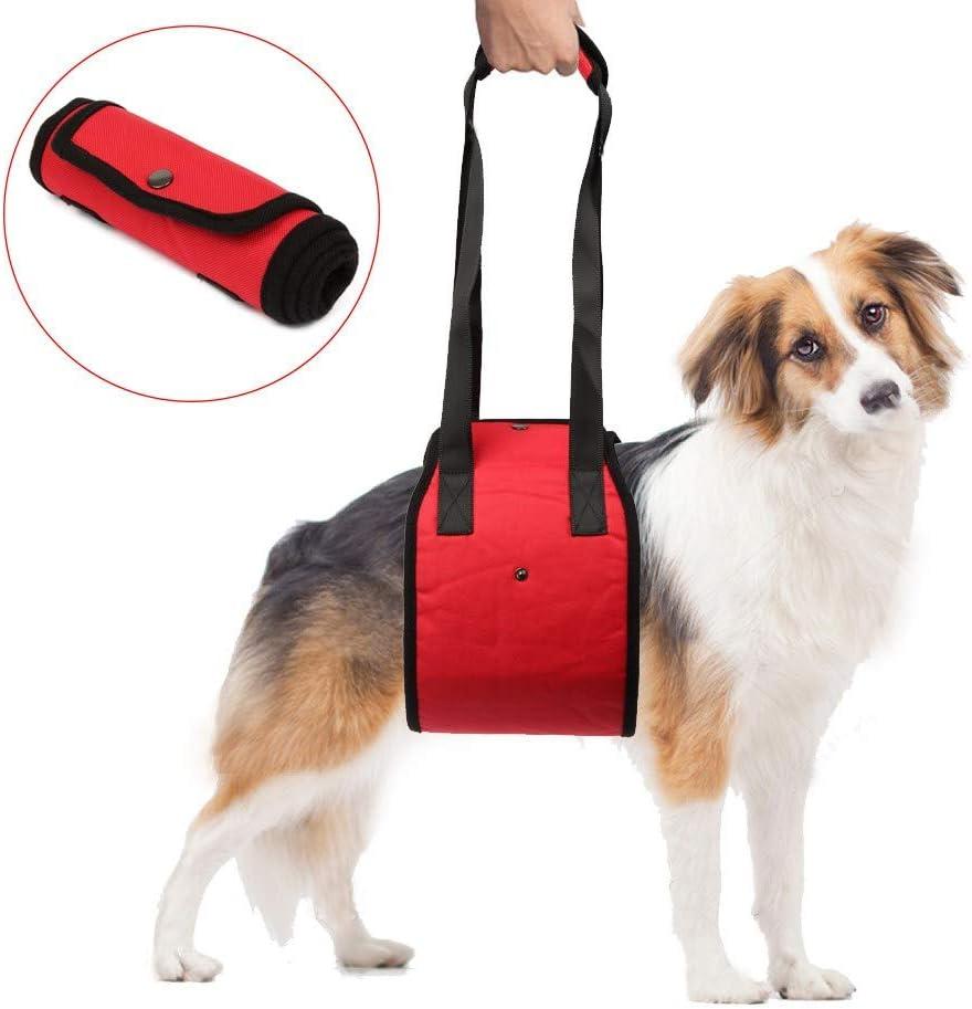 Funkeen Arnés de apoyo para perros con soporte de elevación para ayuda de caninas