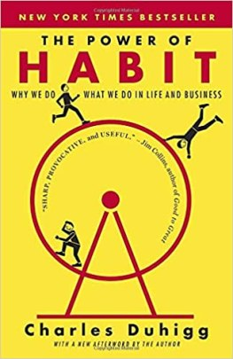 The Power of Habit: Why We Do What We do in Life and Business: Duhigg,  Charles: 9780385669764: Books - Amazon.ca