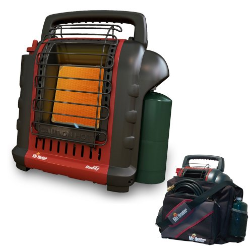 Mr. Heater F232000 MH9BX Buddy 4,000-9,000-BTU Indoor-Safe Portable Propane Radiant Heater (MH9BX Bundle2)
