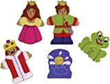 The Frog Prince Felt Finger Puppet Set (5 Finger Puppets)