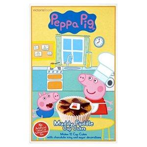 Peppa Pig Muddy Puddle Cupcake Mix (225g) 51AVRazoxCL