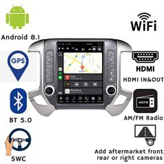 LINKSWELL-GEN-IV-Android-Radio-Replacement-Head-Unit-for-Silverado-and-Sierra-2014-to-2018-Car-Stereo-4GB-64GB-Navigation-121-Inch-Touchscreen-with-WiFiBT-TS-GMPU12-1RR-4A