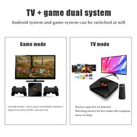 Insuwun-R9-Retro-Game-Console-24G-Controllers-Built-in-5600-Classic-Game-and-20-Emulators-4K-HDMIAV-Output-with-32G-TF-Card-Support-5-Players-905X-Chip-Plug-and-Play-TV-Game-Console