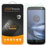 Supershieldz [2-Pack] for Motorola Moto Z Force Droid Tempered Glass Screen Protector, Anti-Scratch, Anti-Fingerprint, Lifetime Replacement